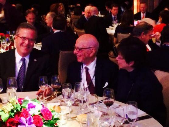 Bush, Murdoch and Jarrett 12.01.2014
