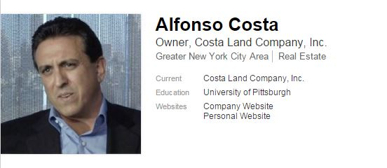 Alfonso Costa, linkedin