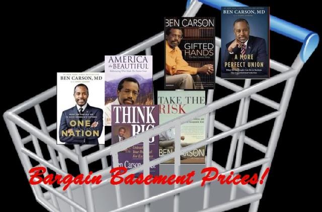 Ben carson books in basket